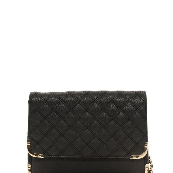 ASOS  Quilted Metal Corner Across Body Bag