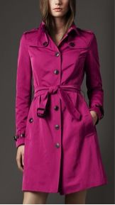 Burberry Prorsum Burberry Prorsum Long Pleat Detail Trench Coat