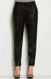Armani Exchange Armani Exchange Faux Leather Jogger Pants
