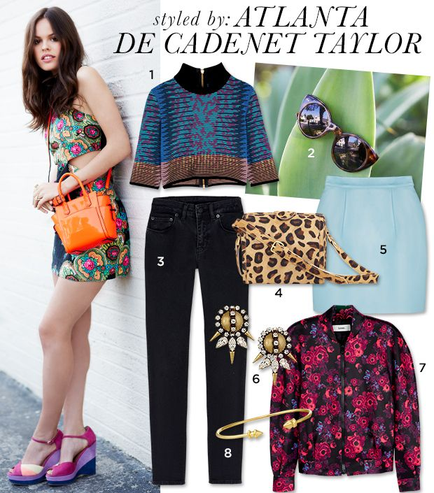 Atlanta de Cadenet Taylor Raids The Who What Wear Closet