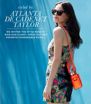 Atlanta de Cadenet Taylor Raids The Who What Wear Closet