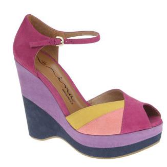 Nina Shari Peep-Toe Sandals