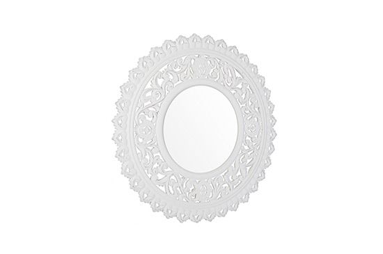 Zara Home Carved Wood Mirror