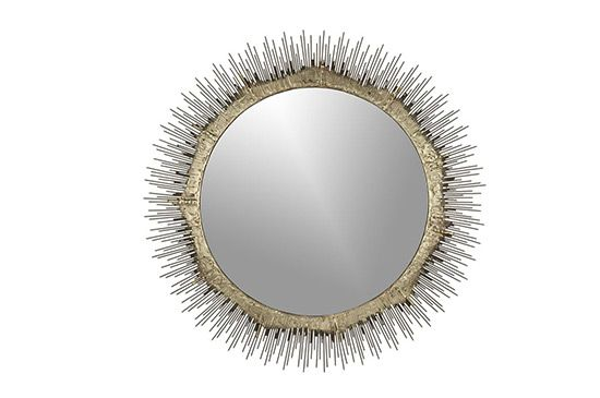 Crate & Barrel Clarendon Small Wall Mirror
