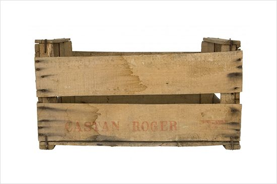 Jayson Home Vintage Wood Crate