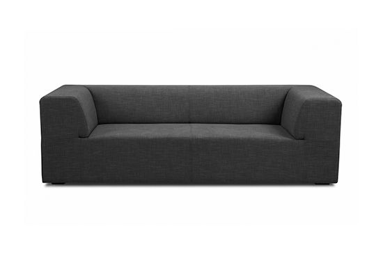 Fashion for Home Seed Dark Grey 3 Seat Sofa