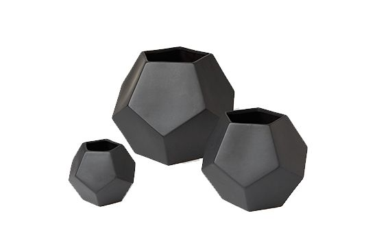 Dwell Studio Faceted Vases