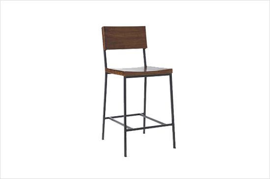 West Elm Rustic Bar Stool and Counter Stool