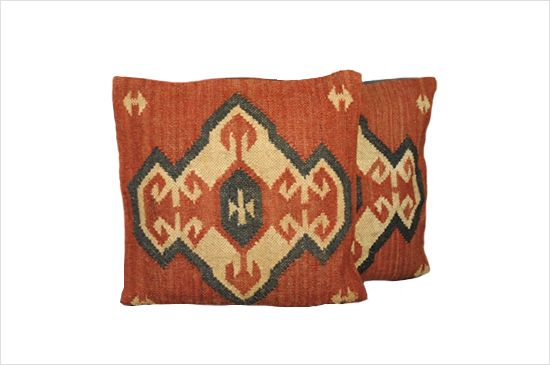 Overstock.com Tribal Indo Kilim Pillows