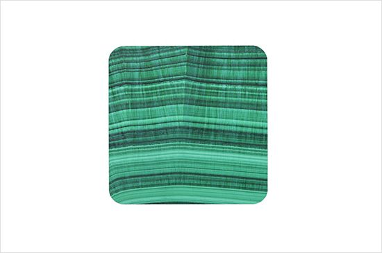 Zazzle Malachite Mineral Drink Coasters