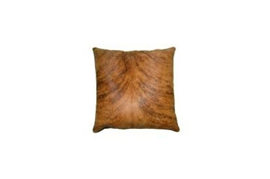 Eco Hides Cowhide Pillow Brindle
