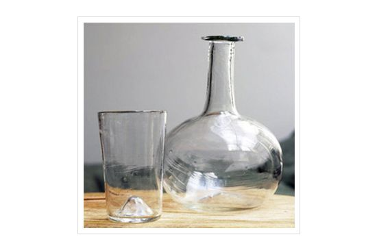 Task Handblown Carafe Set