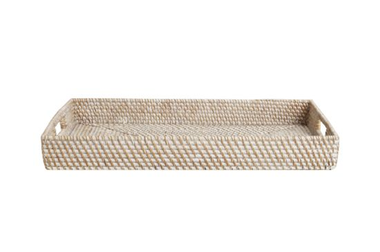 World Market Cost Plus Rattan Tray