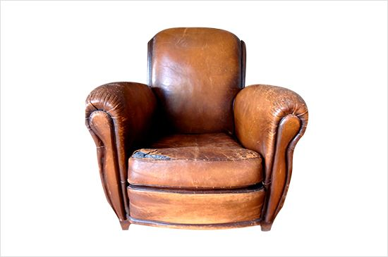 Etsy Shop for vintage leather club chairs here, From $795