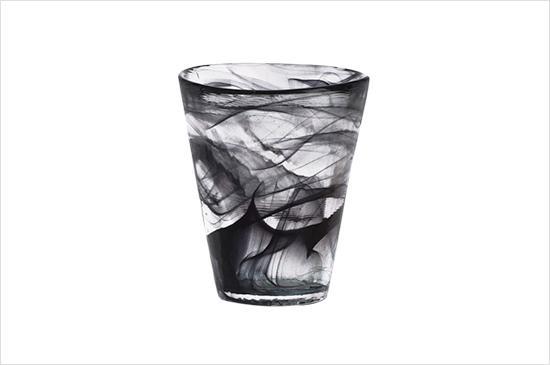 Wayfair Kosta Boda Mine Black Tumbler Glass