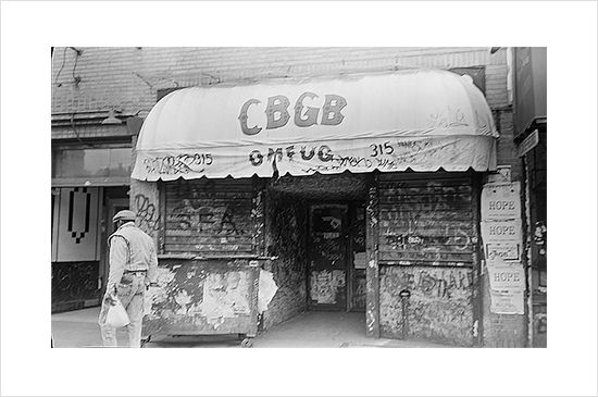Photobot - Anthony Troncale CBGB\'s on the Bowery 1989