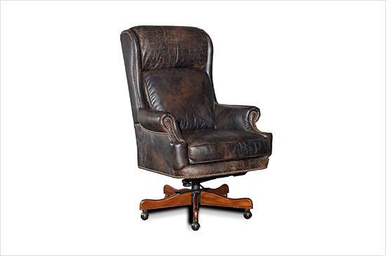 Horchow Mason Leather Desk Chair
