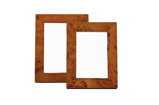 Macy's Burl Wood Frames, Martha Stewart