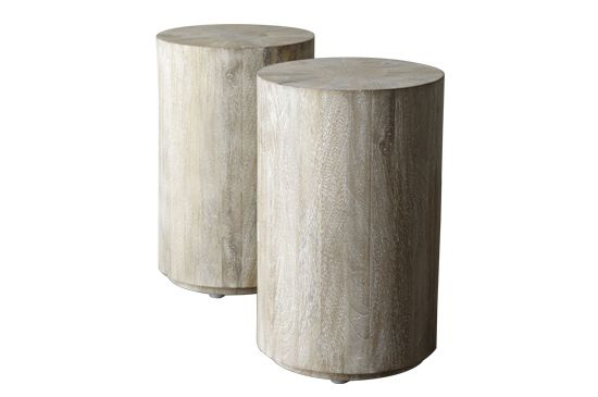 Horchow Driftwood Side Table