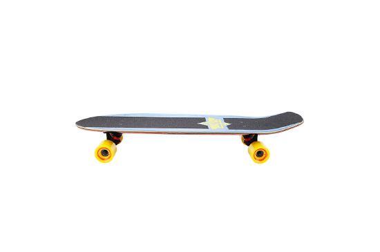Skate Warehouse Duster's California Keen Blue/Yellow Cruiser
