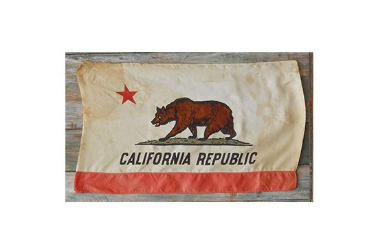 eBay Vintage California Flag