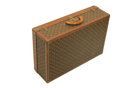 Vintage and Modern Louis Vuitton Vintage Suitcase