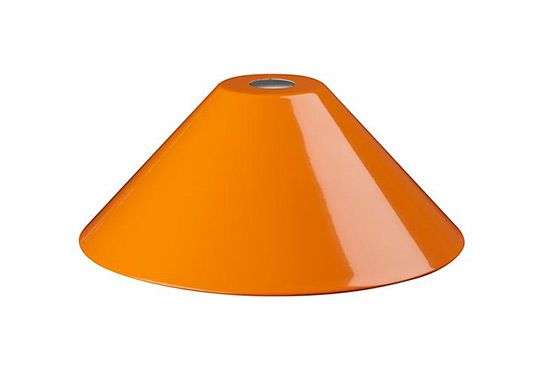 The Land of Nod Orange Triangle Pendant