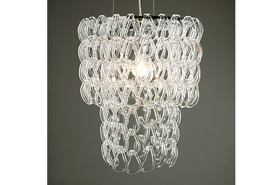 Z Gallerie Glass Links Chandelier