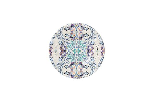Anthropologie Swirled Symmetry Salad Plate