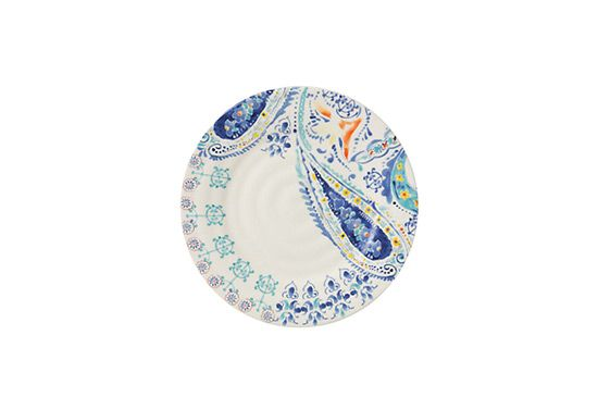 Anthropologie Swirled Symmetry Dinner Plate