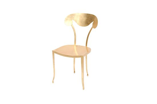 1st Dibs Gold Leaf Chair