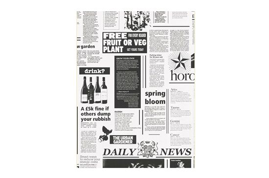 Designers Wallpaper Decora Newspaper Wallpaper