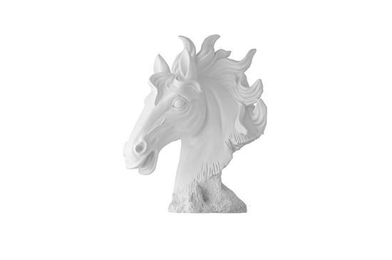 Meijer Coppola Horse Head Statue