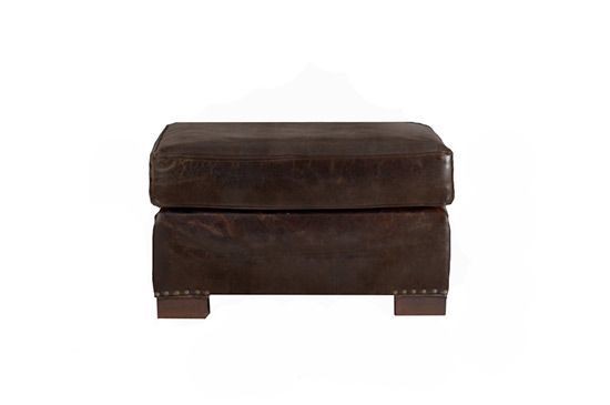 Restoration Hardware Library Ottoman, From $590