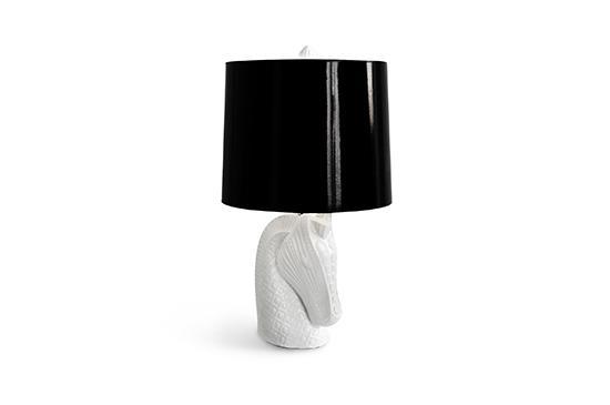 Jonathan Adler Horse Head Lamp