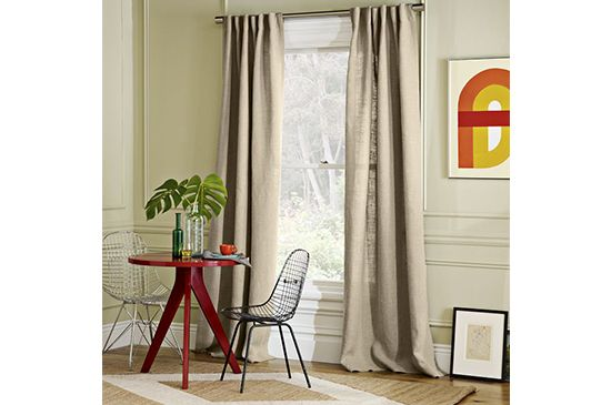 West Elm  Belgian Linen Window Panel , From $90