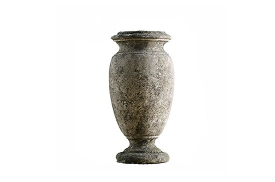 Restoration Hardware  Weathered Stone Vase