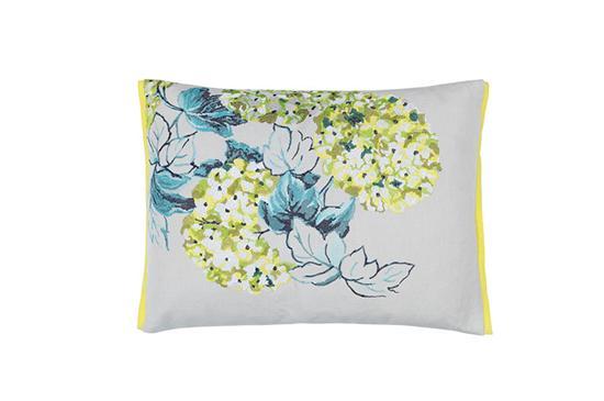 Designers Guild  Design Floral Throw Pillow, Cassandra Moss