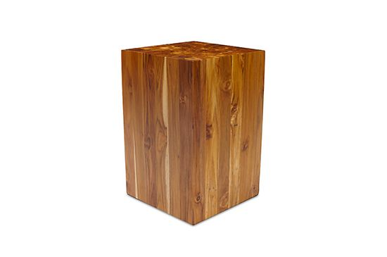 Design Within Reach  Teak Stool
