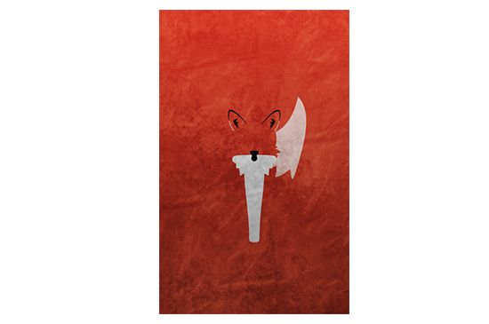 Society6 Bushy Tailed - Red Fox Edition