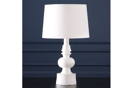 West Elm Turned Table Lamp