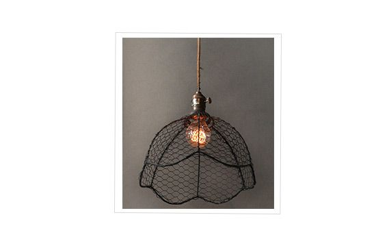 Voila Gallery Wire Mesh Light Fixture