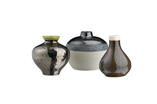 CB2 3-Piece Reactive Vase Set