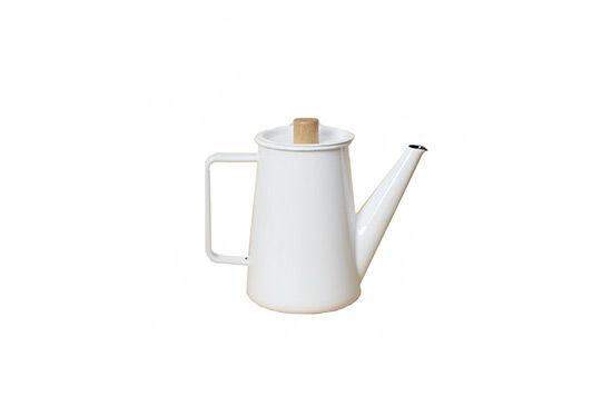 West Elm Enamel Coffee Pot