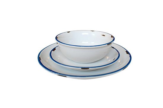 Canvas Tinware Dinnerware