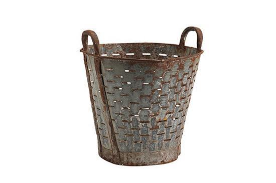 Ballard Designs  Found Olive Bucket