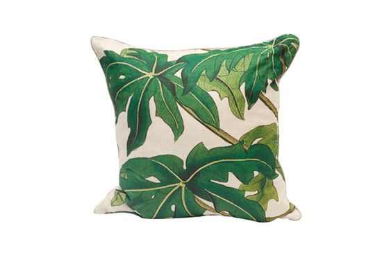 High Fashion Home Botanical Natural Pillow