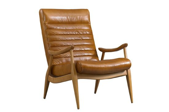 Dwell Studio Hans Leather Chair