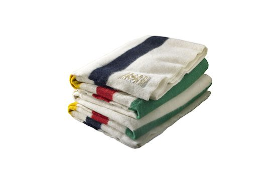 Gracious Style  Multi-stripe Wool Blanket, Hudson's Bay, From $370