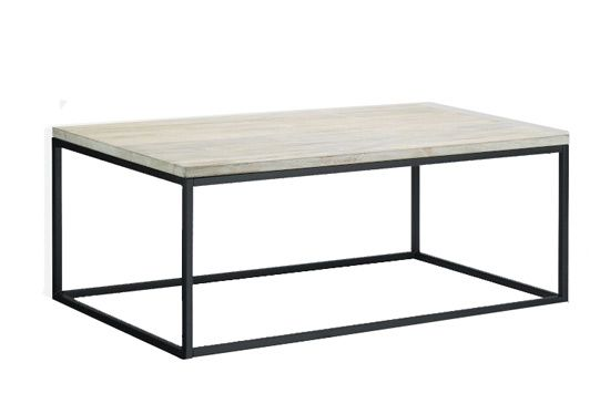West Elm Box Frame Coffe Table